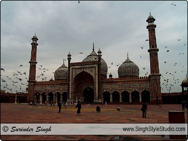 Jama Masjid, Delhi Travel Photography, India