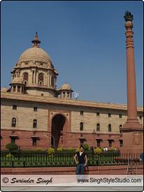 Central Secretariat, New Delhi Travel Photography, India